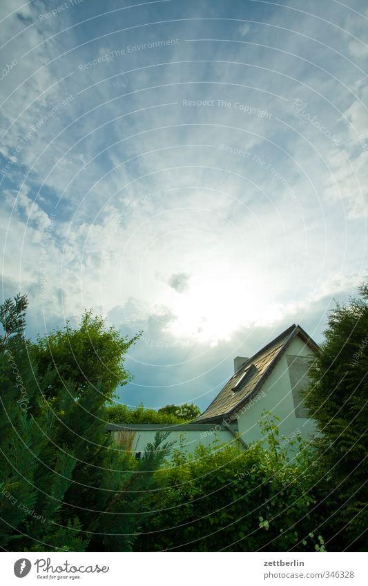 Gartenhaus Himmel Natur Sommer Pflanze Baum Erholung Landschaft Blume Wolken Haus Umwelt Wiese Gras Blüte Wetter