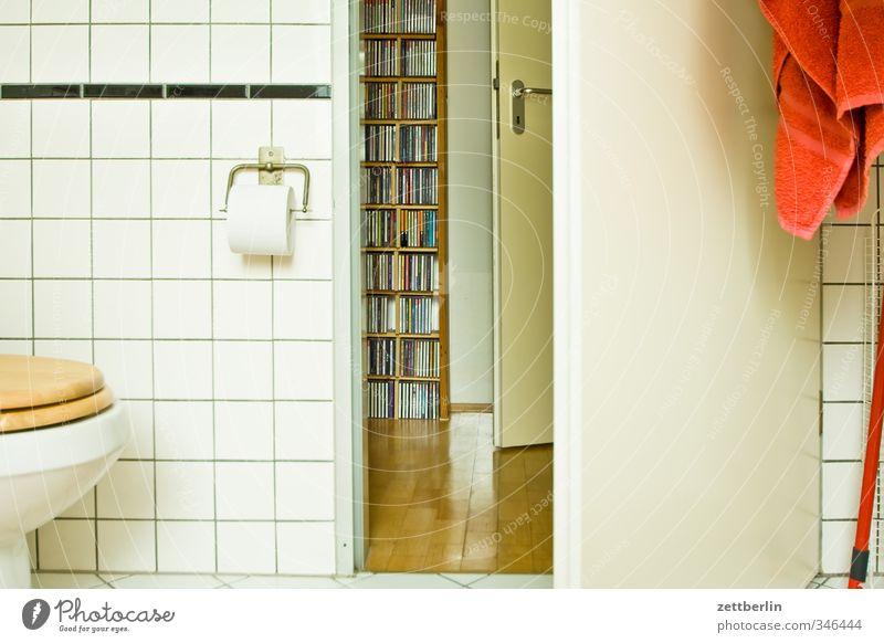 Blick aus der Badewanne schön Freude Haus Wand Gefühle Innenarchitektur Mauer Musik Raum Wohnung Tür Zufriedenheit Häusliches Leben Lifestyle Sauberkeit