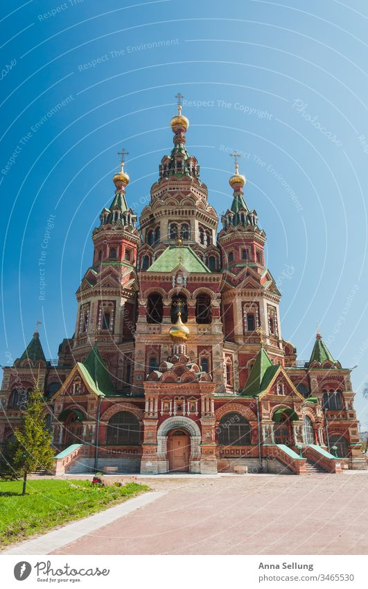 Mächtiges Gebäude mit starken Strukturen St. Petersburg Russland Reisen Architektur Bauwerk Außenaufnahme Sehenswürdigkeit historisch Strukturen & Formen