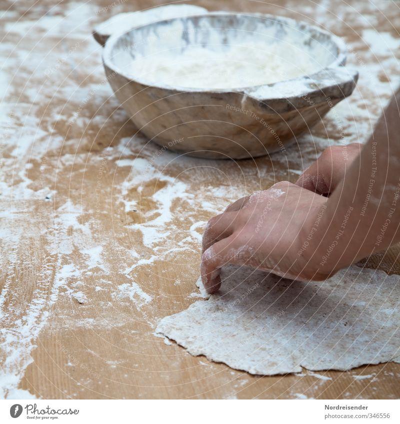 Fladenbrot alt Hand Freude Leben natürlich Lebensmittel Arbeit & Erwerbstätigkeit Freizeit & Hobby Ernährung Arme lernen Kochen & Garen & Backen Armut Finger