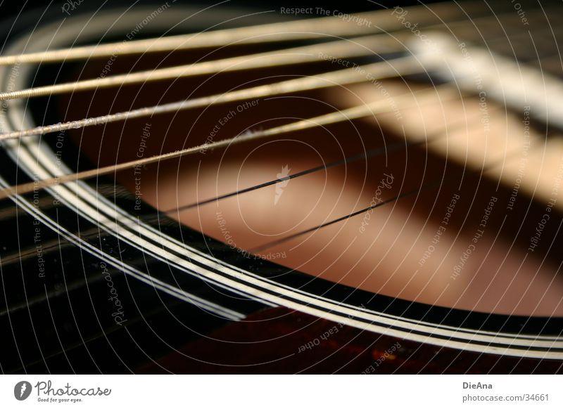 It's alternative (1) akustisch Saite Stahl schwarz Bronze weiß Resonanz Freizeit & Hobby Musikinstrument Gitarre schallloch gold Kreis Klang Makroaufnahme