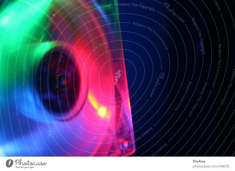 In motion grün blau rot Lampe Stil Bewegung Computer Beleuchtung rosa Aktion Technik & Technologie violett Fotokamera Verlauf Drehung Ventilator