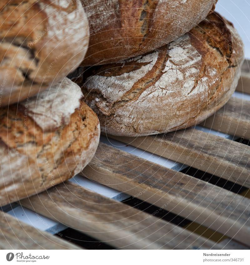 Kruste Gesunde Ernährung Gesundheit braun Lebensmittel Ernährung genießen Beruf rein Appetit & Hunger lecker Handwerk Reichtum Duft Brot Bioprodukte Handel