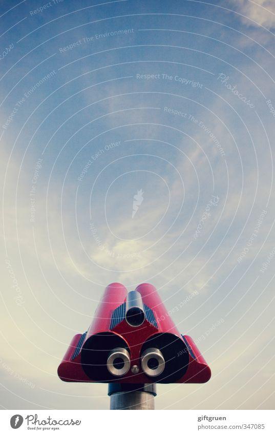 silberblick Technik & Technologie Wissenschaften Fortschritt Zukunft Blick Surrealismus Überwachung Silberblick Blick nach oben rot Schielen außerirdisch