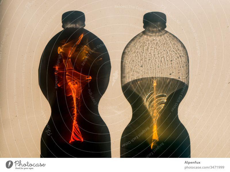 Message in a bottle Flaschengeist Geister u. Gespenster gruselig Erscheinung Angst Spuk Spiegelung Reflexion & Spiegelung unheimlich Schatten spukhaft