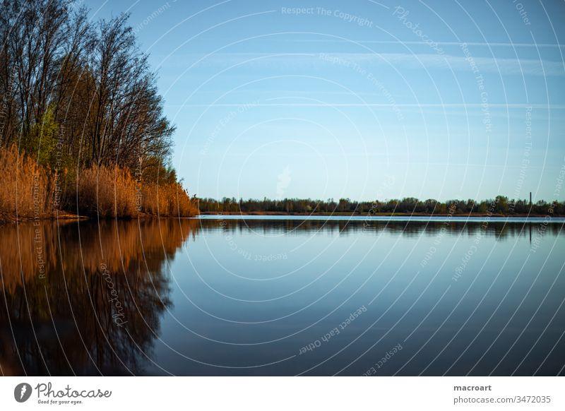 Wallendorfer See wallendorfer see wasser gewässer abendsonne abendrot Sonnenuntergang Abendsonne Gewässer Himmel Abenddämmerung Natur blau Außenaufnahme Küste