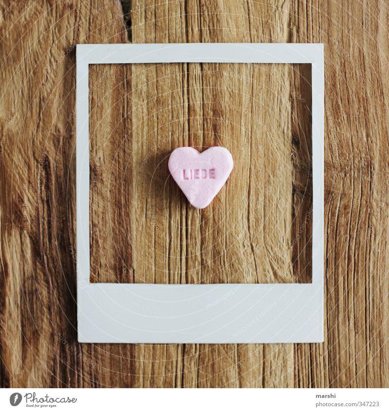 die LIEBE alt Liebe Stil Essen Lebensmittel Wohnung Freizeit & Hobby Fotografie Lifestyle Ernährung süß Geschenk retro Zeichen Süßwaren Rahmen