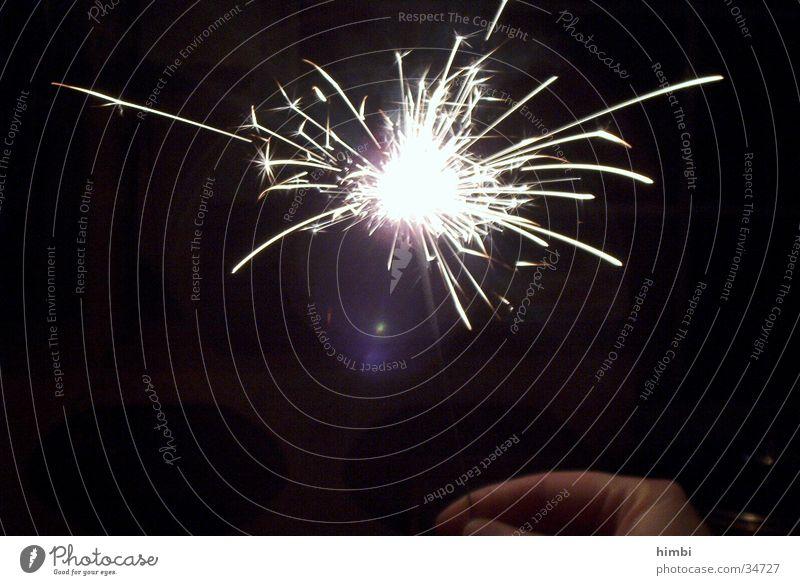 wunderkerze Wunderkerze Nacht Freizeit & Hobby Feuerwerk Brand