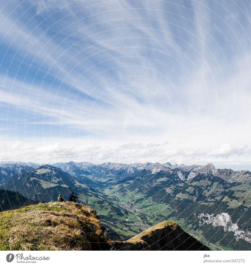 500 - gute Aussichten! Wohlgefühl Erholung Tourismus Ausflug Ferne Freiheit Sommer Berge u. Gebirge wandern Umwelt Natur Landschaft Himmel Wolken Herbst Alpen