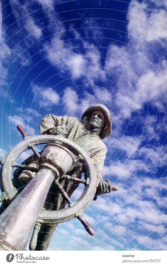 der alte Mann und das Meer Ferien & Urlaub & Reisen Bewegung Wasserfahrzeug Europa Segeln Navigation Portugal Seemann unterwegs Paddel Porto