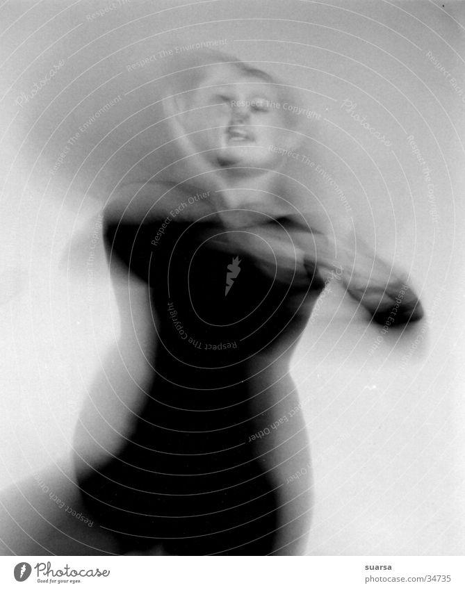 Zweites Gesicht Rhythmus feminin Stimmung Polarisation Stil Freizeit & Hobby Frau Tanzen Bewegung Mensch Leben Energiewirtschaft