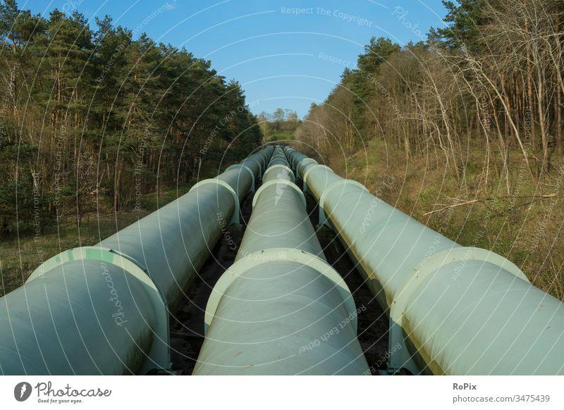 Rohrleitungen eines Pumpwasserkraftwerks. scotland Landschaft highlands Weide Schottland Schafweide England landscape Mauer Natursteinmauer Naturschutzgebiet