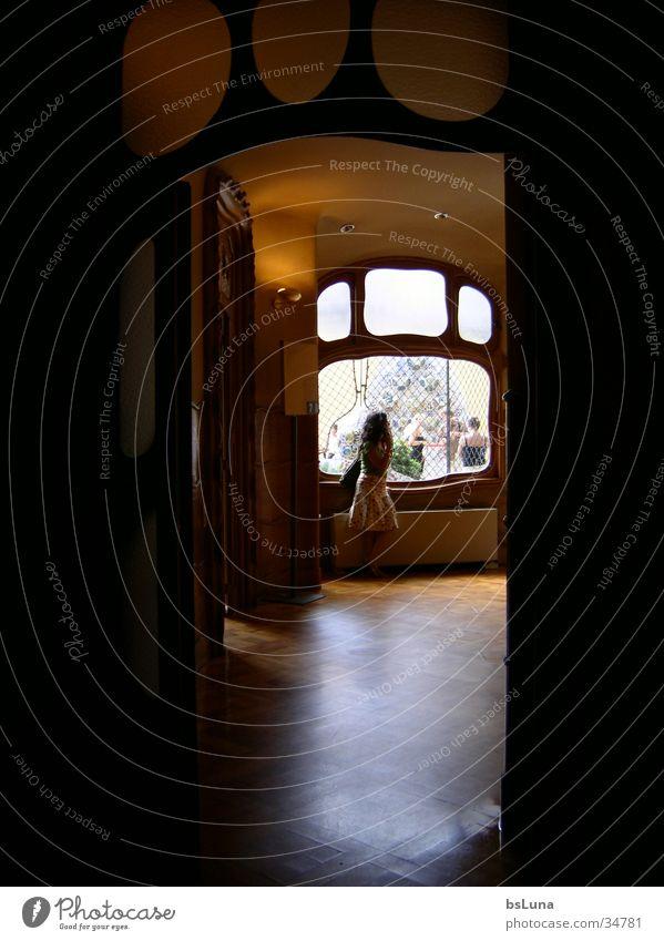 Casa Battlo 1 Barcelona Wohnzimmer Erker Licht Architektur Freude interior Stimmung Innenaufnahme