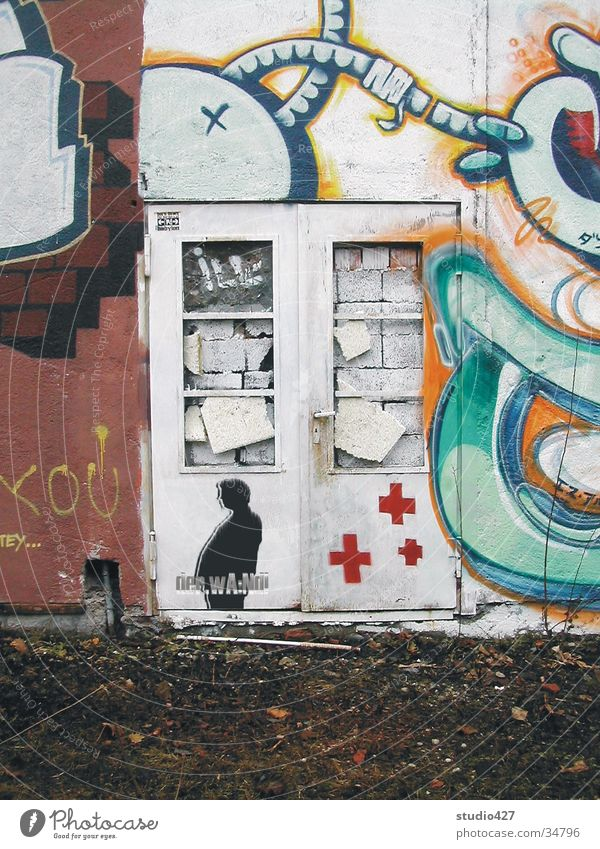der.wA:Nd! Haus Wand Mauer Freizeit & Hobby Schnur Eingang