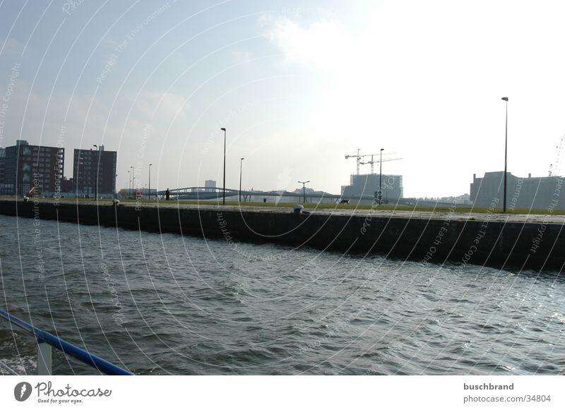 BUSCHBRAND_002 Himmel Wasser Küste Hafen Amsterdam
