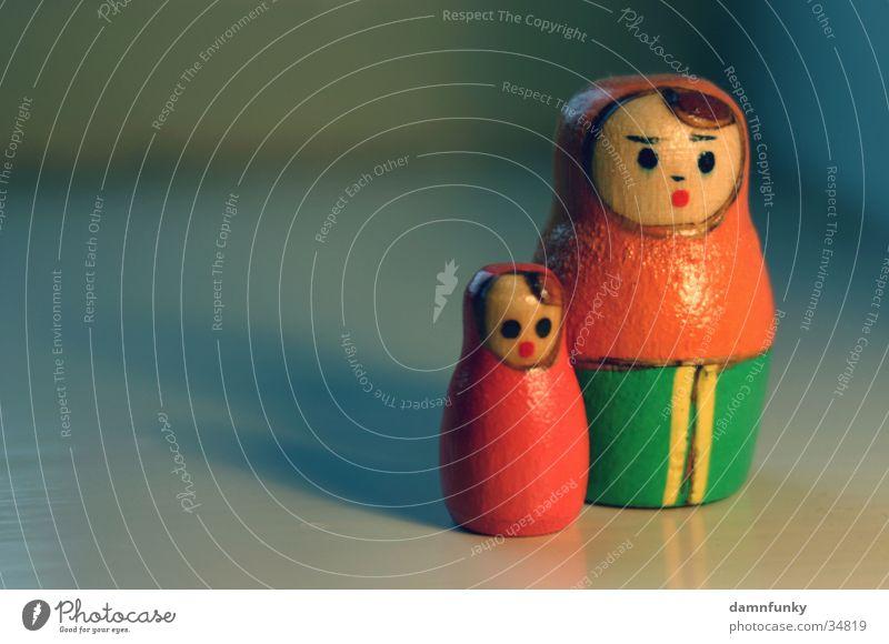 Babushka ruhig Familie & Verwandtschaft 2 Mutter Spielzeug Russland Tochter Eltern