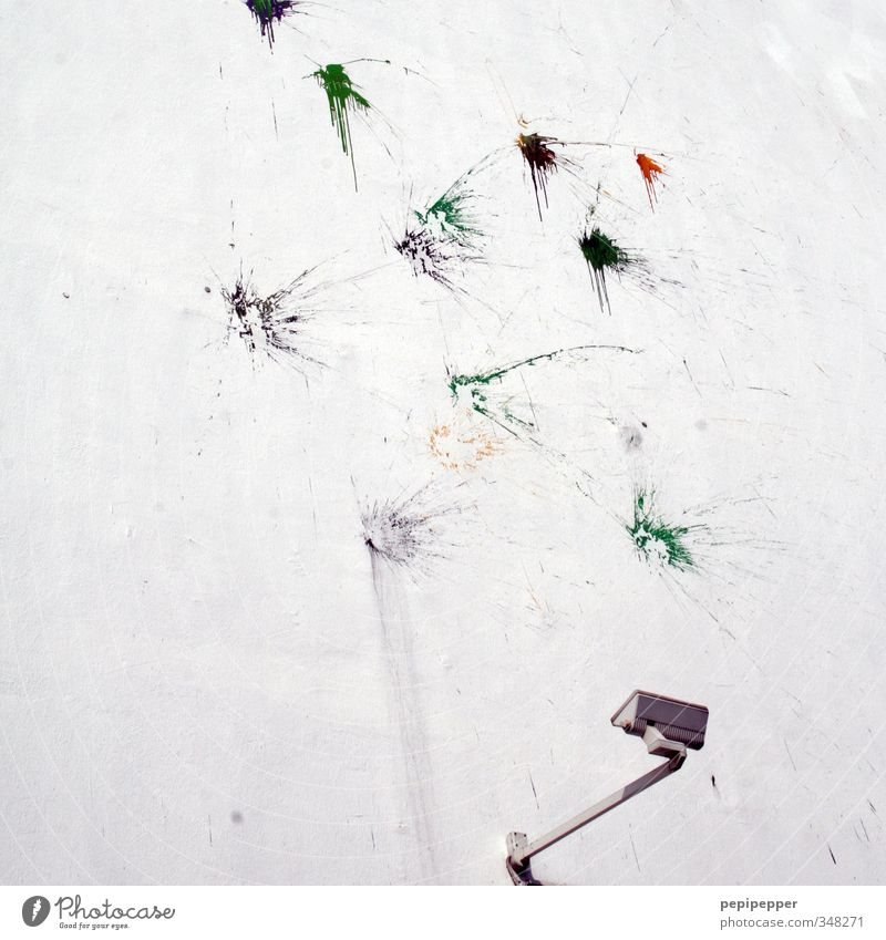 protest kann kunst werden Stadt Haus Graffiti Wand Mauer Stein Lampe Kunst Wohnung Fassade Tropfen Jugendkultur Gemälde Wut Bauwerk Aggression