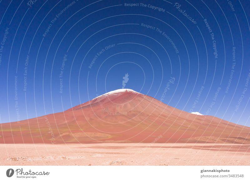 Vulkan Licancabur, Altiplano, Bolivien, Südamerika Abenteuer altiplano Altiplano Seen Anden Andengebirge schön Schönheit der Natur blau Blauer Horizont