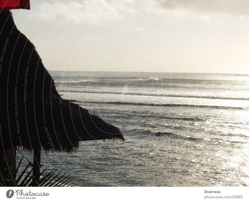 sunset Bingin 2003 Ferien & Urlaub & Reisen Meer Erholung Wellen Asien Bali Indonesien