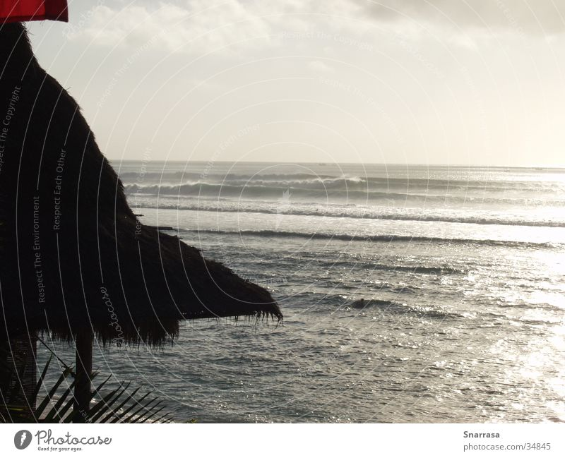 sunset Bingin 2003 Sonnenuntergang Meer Wellen Erholung Bali Indonesien Asien Ferien & Urlaub & Reisen