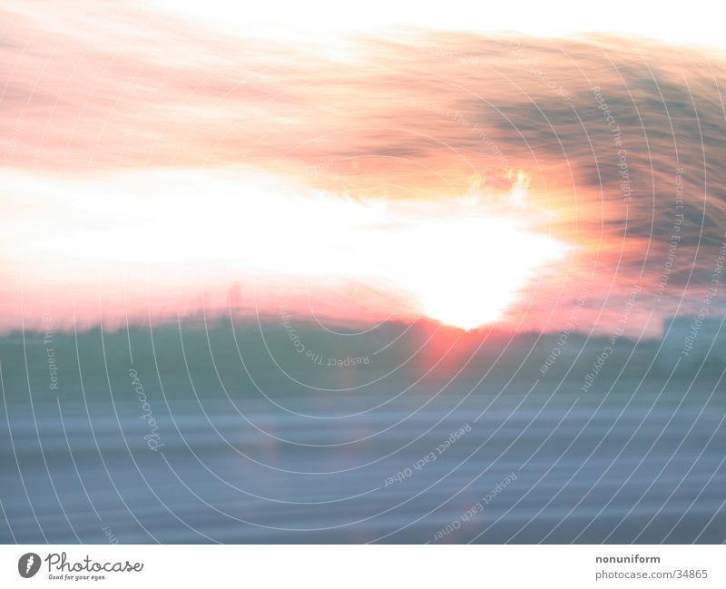 Shining 181 Sonne Bewegung Geschwindigkeit Autobahn
