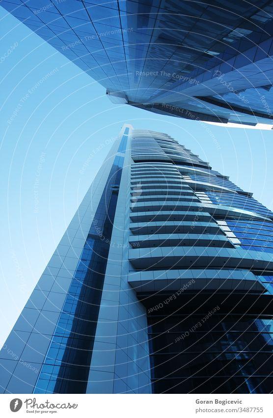 Wolkenkratzer 17.11.2010 Dubai abstrakt Appartement einladend Architektur schön blau Gebäude Business Zentrum Großstadt Stadtbild wirtschaftlich Unternehmen