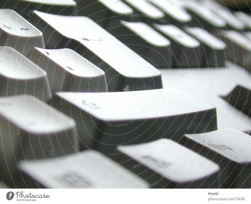 Enter Elektrisches Gerät Technik & Technologie berühren Tastatur