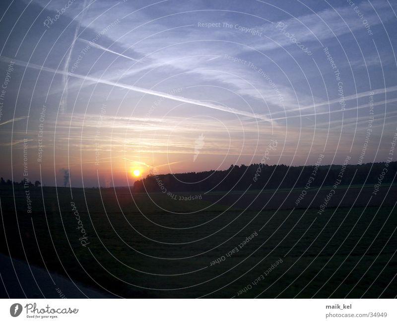 Sonnenaufgang Himmel Romantik