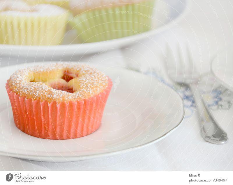 Muffin Lebensmittel Teigwaren Backwaren Kuchen Dessert Marmelade Ernährung Frühstück Kaffeetrinken Geschirr Besteck Feste & Feiern Hochzeit Geburtstag klein