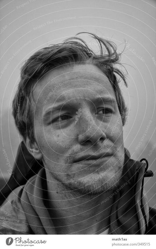 Mensch Mann Jugendliche Erwachsene Gesicht 18-30 Jahre Kopf maskulin authentisch Abenteuer Bart Fernweh Ehrlichkeit Wahrheit Fairness Gerechtigkeit