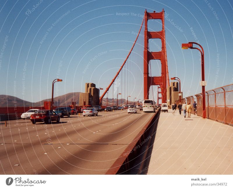 Golden Gate Bridge, San Francisco Brücke USA Kalifornien San Francisco Hängebrücke Golden Gate Bridge