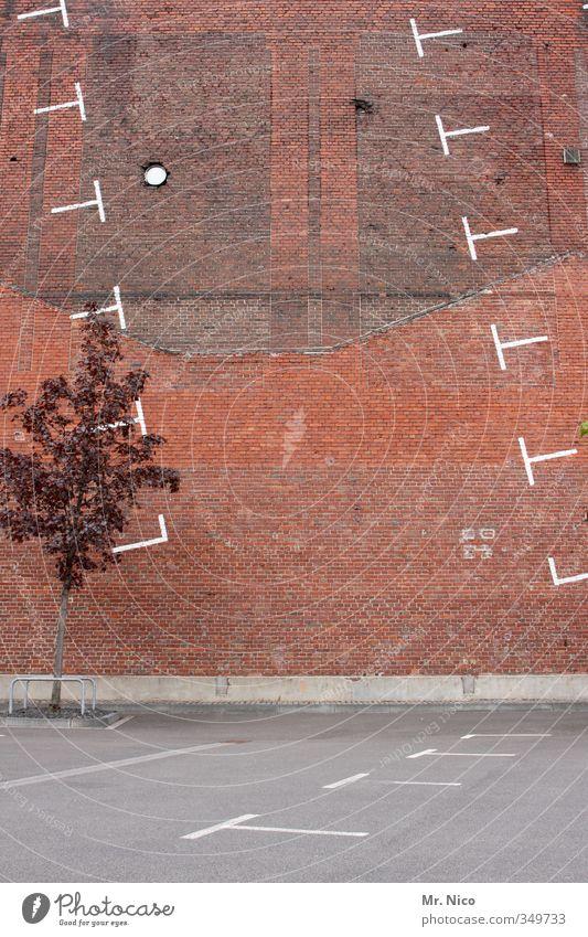 Pech für die Kuh Elsa | ..irgendwie ist da was falsch gelaufen.. Baum Stadt Hochhaus Bauwerk Gebäude Architektur Fassade Verkehrswege Ordnung skurril parken