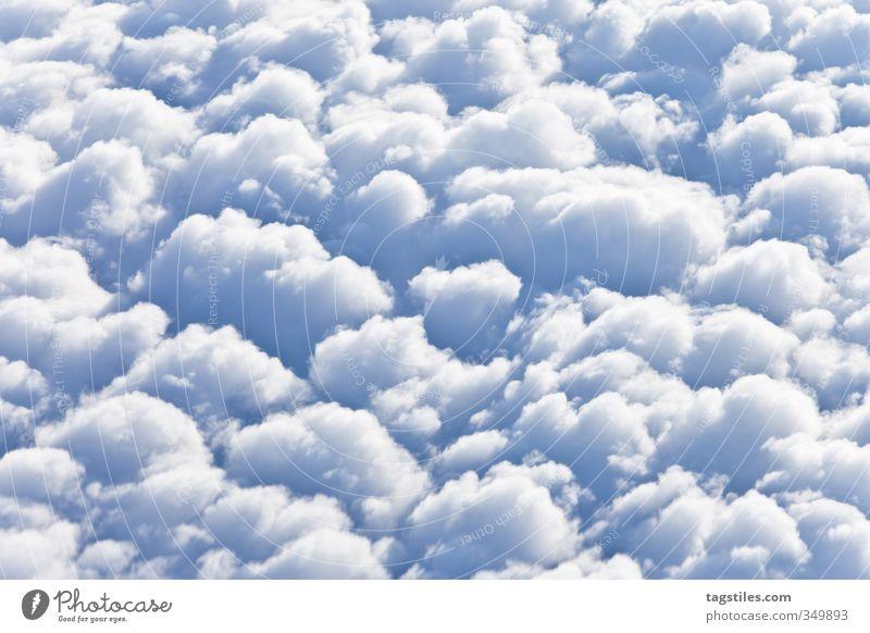 HEITER UND WOLKIG Wolken Kumulus heiter heiter bis wolkig heiter und wolkig fliegen Luftverkehr über den Wolken Ferien & Urlaub & Reisen Reisefotografie