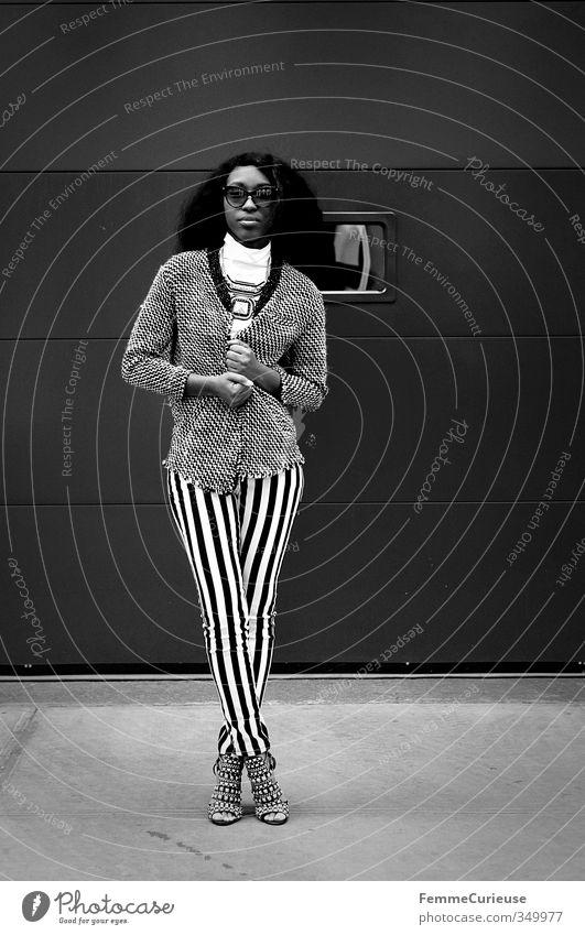 NYC Girl IX. Lifestyle Reichtum elegant Stil schön feminin Junge Frau Jugendliche Erwachsene 1 Mensch 18-30 Jahre Stadt Afro-Look dunkelhäutig geschmackvoll