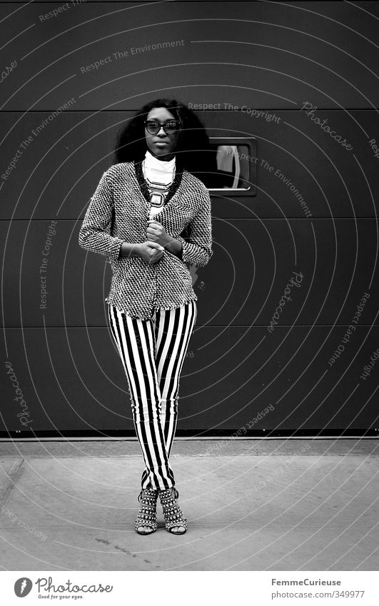 NYC Girl IX. Mensch Frau Jugendliche Stadt schön weiß Junge Frau Erwachsene feminin 18-30 Jahre Stil elegant groß Lifestyle Körperhaltung dünn