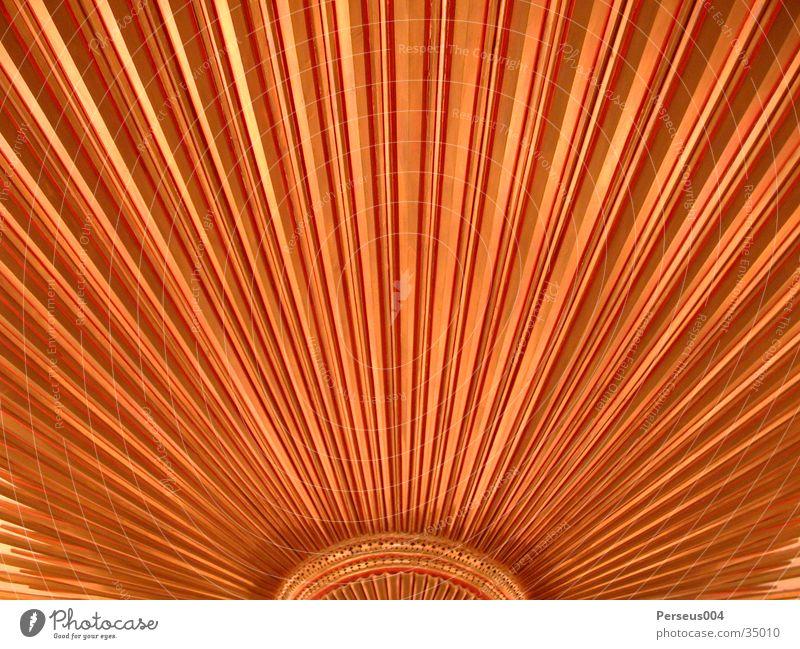 Stern rot gelb Strahlung Lampe Makroaufnahme Nahaufnahme Detailaufnahme Stern (Symbol) Sonne orange Decke