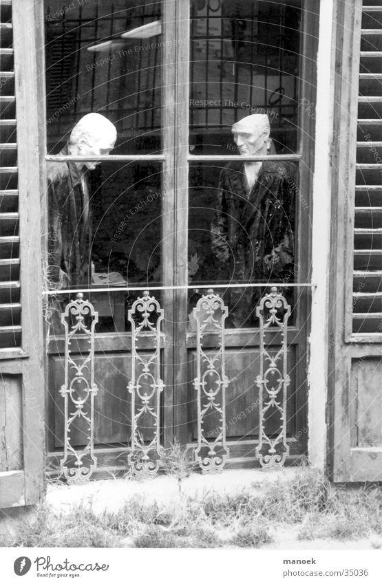 schaufensterpuppen Fenster Kunst obskur Puppe Neigung Mensch