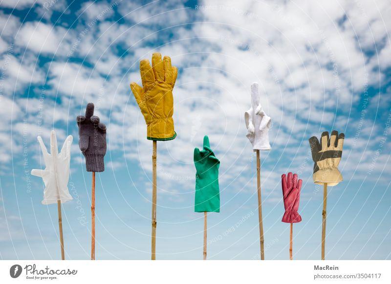 Ich bin dafür handschuhe arbeitshandschuhe haushaltshandschuhe lederhandschuhe OP Handschuhe gummihandschuhe latexhandschuhe einmalhandschuhe baumwollhandschuhe