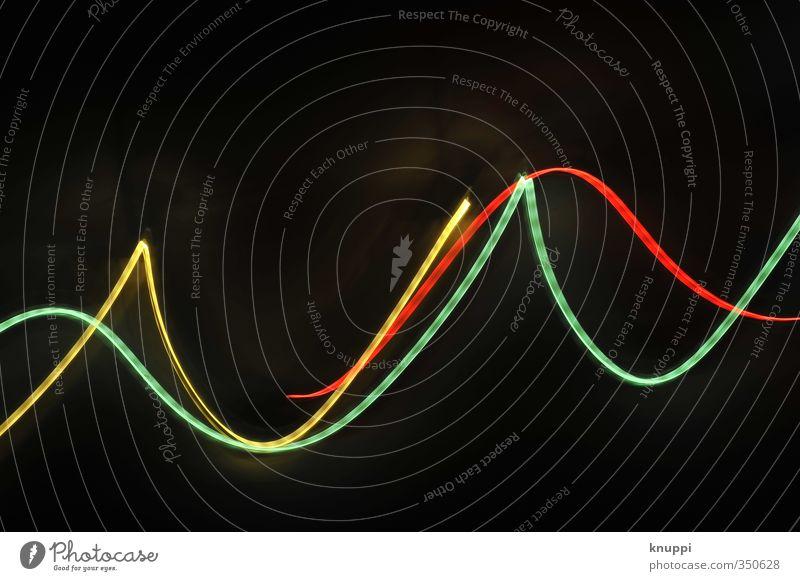 communication breakdown grün rot schwarz gelb Bewegung hell träumen Energiewirtschaft leuchten Technik & Technologie Kommunizieren Zukunft Spitze