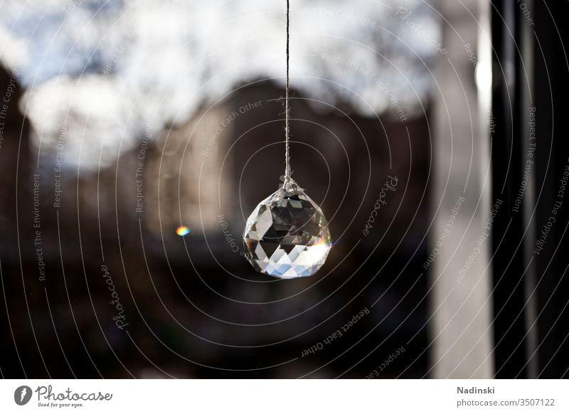 Hoffnung Hoffnungsschimmer hoffnungslos hoffen Fenster Fensterscheibe drinnen zu Hause isoliert isolation Wohnung Licht Dekoration & Verzierung Glas Glasscheibe
