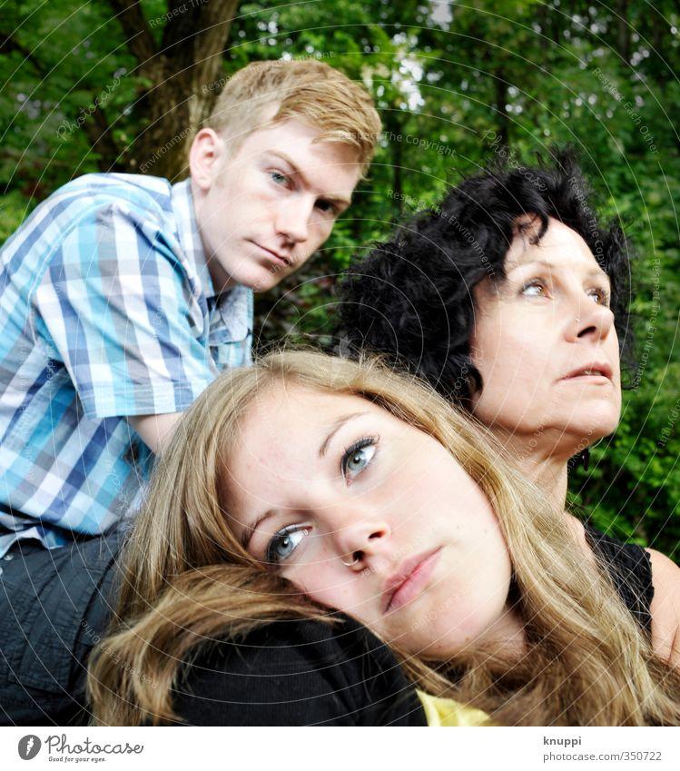 family tree Mensch Frau Kind Jugendliche blau grün Junge Frau schwarz Erwachsene Gesicht Junger Mann Auge Leben feminin 18-30 Jahre Haare & Frisuren