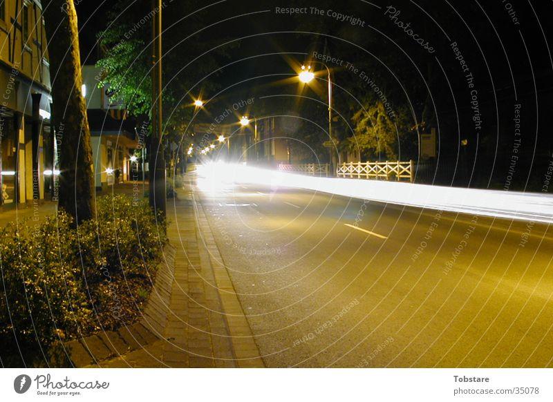 lights Straße Bewegung PKW Geschwindigkeit lang Fototechnik