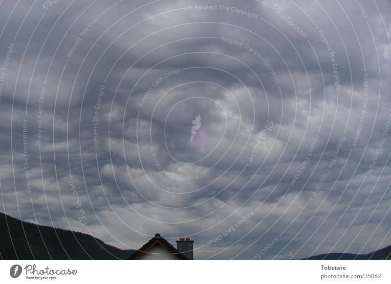 lustige wölkchen Wolken Wetter Sturm Mangel selten