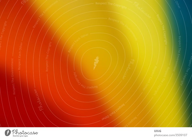 Buntes Farbspektrum - Bunt gefächertes regenbogenartiges Farbspektrum. Farbe bunt Regenbogen Spektrum Fächer spektral Spektralanalyse Oberfläche Farbverlauf