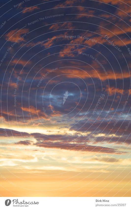 Norwegischer Abendhimmel Natur Luft Himmel nur Himmel Wolken Gewitterwolken Sonnenaufgang Sonnenuntergang Sommer Klima Klimawandel Wetter Wind bedrohlich