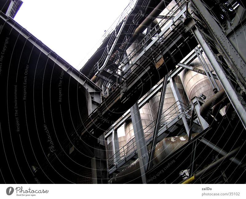 Rheinkultur Industrie Stahl Ruhrgebiet Baugerüst