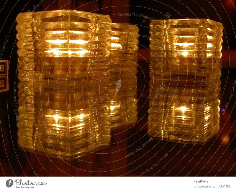 Lichtspiele Kerze Reflexion & Spiegelung Häusliches Leben Reflektion