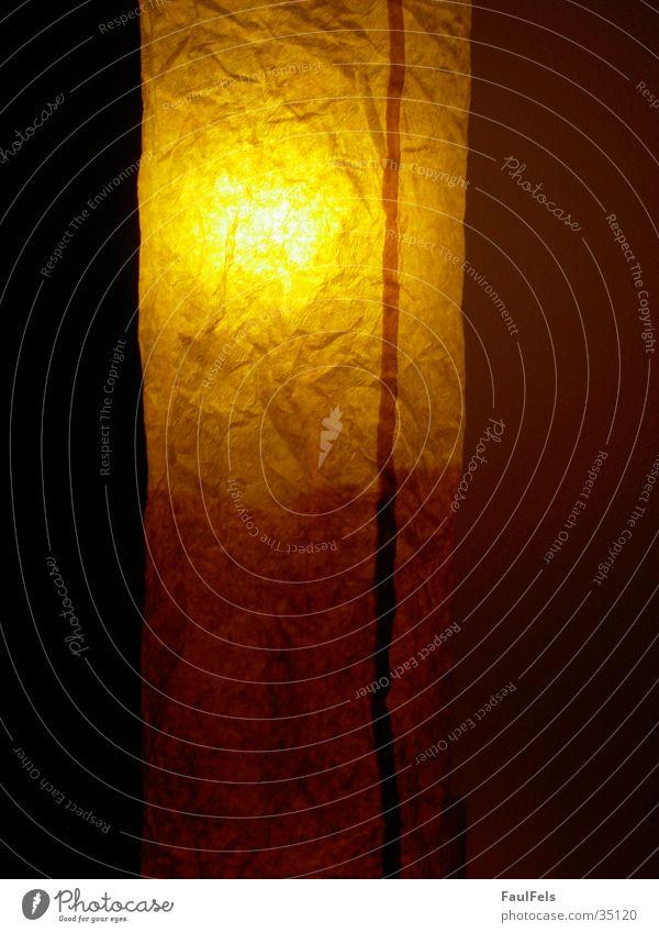 IKEA-Lampe dunkel Papier Häusliches Leben Reaktionen u. Effekte Lampenschirm