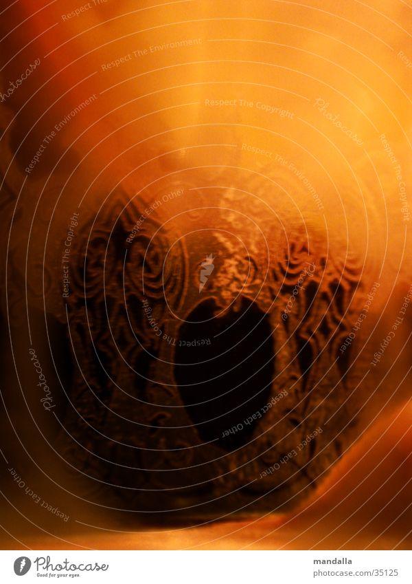 Marokko 2 Licht rot schwarz durchsichtig Ornament Naher und Mittlerer Osten Fototechnik Glas orange Schatten