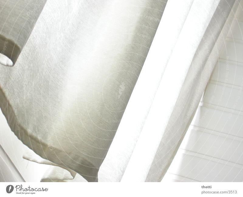Vorhang auf! weiß Wellen Stoff Dekoration & Verzierung Fototechnik Häusliches Leben